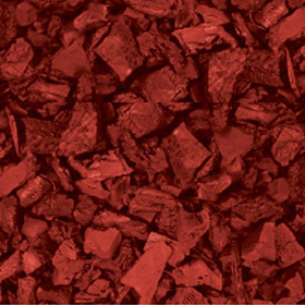 Leader Rubber Mulch Brick Red